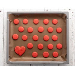 BAK/UGNSDUK NON-STICK 33X40 CM Brun Brown Bake Liner