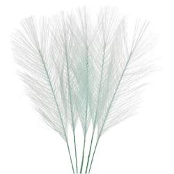 Påsk fjädrar / plym 5 pack Mint Ljusgrön