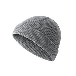 Sotarmössa / kort mössa - Flera färger grå