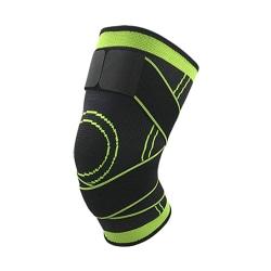 Stabiliserande knäskydd med straps - Flera storlekar Green L
