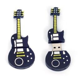 USB-minne 64 GB - Gitarr Gul