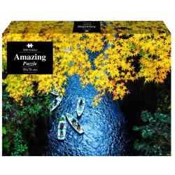 1Conzept Amazing Pussel - Båtar i floden 1000 bitar multifärg