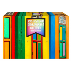1Conzept Pussel - Color Me Happy: Fönster 1000 bitar multifärg