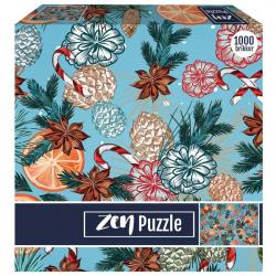 1Conzept Zen Pussel - Julkänsla 1000 bitar multifärg