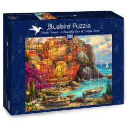 Bluebird Pussel - En vacker dag i Cinque Terre 2000 bitar multifärg