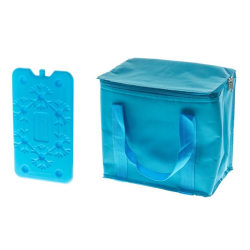 Ice Man Blå Kylväska med kylklamp  Blå