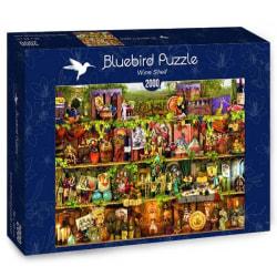 Bluebird Pussel - Vinhylla 2000 bitar multifärg
