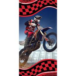 Motorcross Badlakan/Handduk 70 x 140 cm multifärg