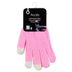 Accés Fingervantar för pekskärm - Ljusrosa Ljusrosa one size