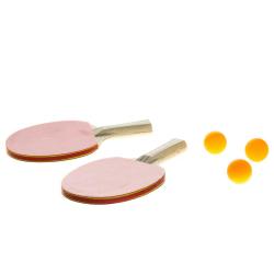 Atom Sports Bordtennisset Pingpong- Pingisset Röd