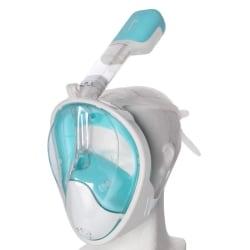 Atom Sports Hel Snorkelmask för barn Blå
