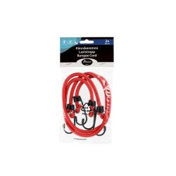 Atom Sports Lastremmar 60 cm - 2-pack Röd Röd
