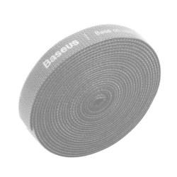 Baseus Kardborreband för kablar 3 meter grå