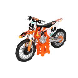 Bburago 1:18 Motorcykel KTM 450 SX-F Factory Edition 2018 nr 84 Orange