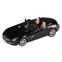 Bburago 1:32 Mercedes-Benz SLS AMG Roadster - Svart Svart