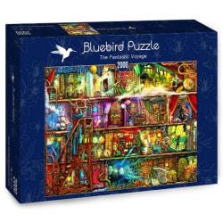 Bluebird Pussel - Den fantastiska resan 2000 bitar multifärg