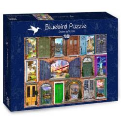 Bluebird Pussel - Dörrar till USA 2000 bitar multifärg