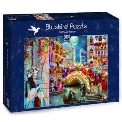 Bluebird Pussel - Karneval i Venedig 3000 bitar multifärg