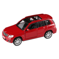 Bburago 1:32 Mercedes-Benz GLK-Class - Röd Röd