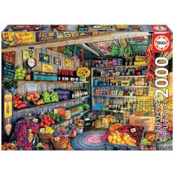 Educa Pussel - Bondemarknaden 2000 Bitar multifärg