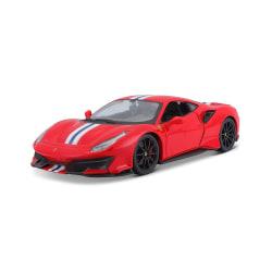 Ferrari 1:64 488 Pista - Röd Röd