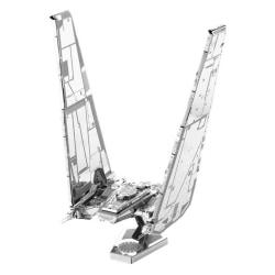 Metal Earth Star Wars Kylo Ren's Command Shuttle Modellbyggsats Silver