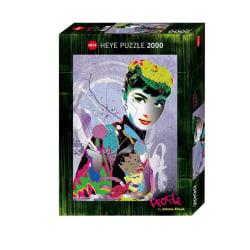 Heye Pussel - People Art, Audrey II 2000 Bitar multifärg
