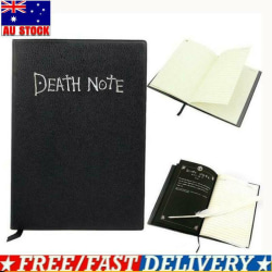 Death Note Cosplay Notebook And Feather Pen Book Anime Theme