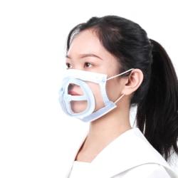 10st Mask Holder 3D Support Masque Holder ökar andningen one size