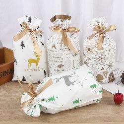 10st god jul godispåse Xmas Santa Cookies Pouche