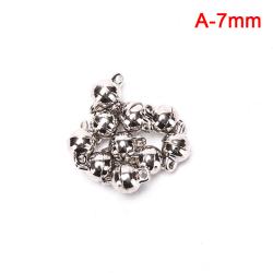 10st 7mm / 8mm rundkula magnetlås DIY smycken gör findi A-7mm