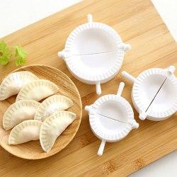 3st / set kök dumpling formar plast deg press dumpling paj onesize