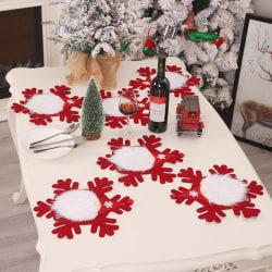 Juldekorationer DIY Forester Table Table Mat Wall Hangin
