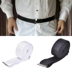 Fashion Shirt Holder Adjustable Shirt Stay Best Tuck It Belt me Black