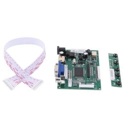 HDMI VGA 2AV LVDS LCD Display Controller Board Pi Kit för LCD M