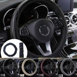 Universal Auto Car Ratskydd Läder Andas Anti Black