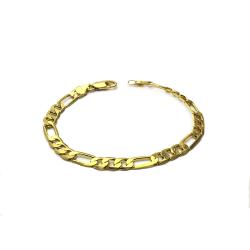 Partihandel guld män rostfritt stål kedja armband armband förbud