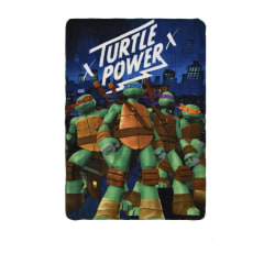 Fleecefilt Turtles - Blå