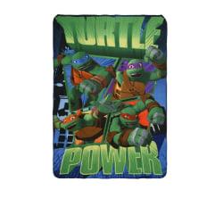 Fleecefilt Turtles - Grön