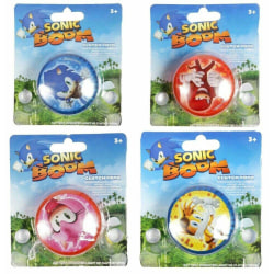 2-Pack Sonic The Hedgehog Sonic Boom Clutch YoYo JoJo Med Ljus multifärg
