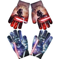 2-Pack Star Wars Darth Vader Vantar Fingervantar One Size multifärg one size
