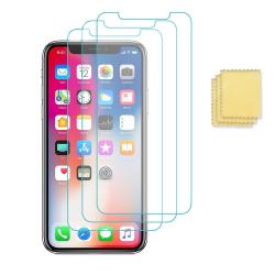 3-Pack iPhone 12 Pro Max Skärmskydd Folie Transparent  Transparent