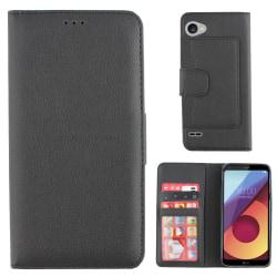 Colorfone Wallet LG Q6 Plånboksfodral BLACK Svart