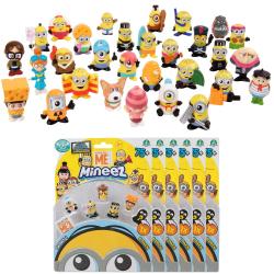 36-Pack Minions Dumma Mej Mineez Deluxe Figurer S1 multifärg