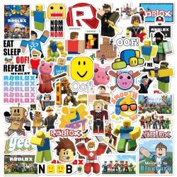 50st Roblox Gadget Stickers Klistermärken Återanvändbara Vinyl  multifärg