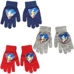 2-Pack Sonic the Hedgehog Vantar Fingervantar One Size multifärg one size