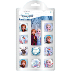 Disney Frozen Frost Elsa Anna Suddgummi 10-Pack Radergummi multifärg
