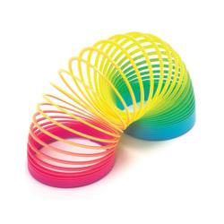 Slinky Spiral Trappfjäder Regnbåge Magic Rainbow Spring multifärg