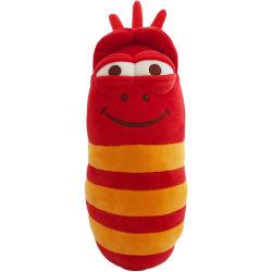 LARVA Röd Gosedjur Med Ljud Mjukisdjur Plysch Red 30cm  Röd