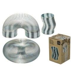 Metall Slinky Spiral Trappfjäder Spring 11cm multifärg